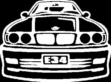 ����� ������� ��������� �� ������ BMW E34 - FatLine
