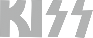 Принт Мужская майка Kiss Logo - FatLine