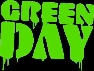 Принт Женская толстовка Green Day - FatLine