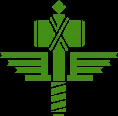 Принт Сумка Manowar Logo - FatLine