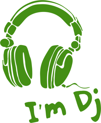 Принт Сумка I'm DJ - FatLine