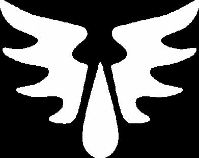 Принт Футболка Поло Кровавые Ангелы - WarHammer - FatLine