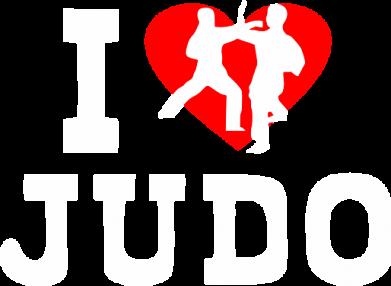 Принт Мужские шорты I love Judo - FatLine