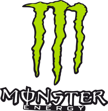 Принт Фартук Monster Energy Logo - FatLine