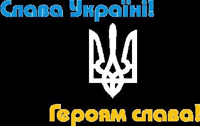 Принт Футболка с длинным рукавом Слава Україні! Героям Слава! - FatLine