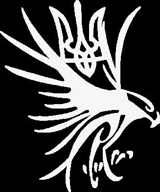 Принт Женские шорты Сокіл та герб України - FatLine