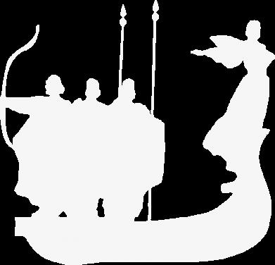 Принт Женская футболка с V-образным вырезом Кий,Щек,Хорив - FatLine