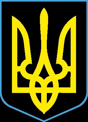 Принт Тельняшка с длинным рукавом Герб України з рамкою - FatLine