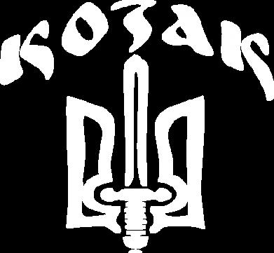 Принт Наклейка Козак з гербом - FatLine