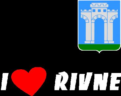 Принт Реглан I love Rivne - FatLine