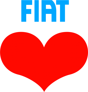 Принт Шапка Fiat love - FatLine