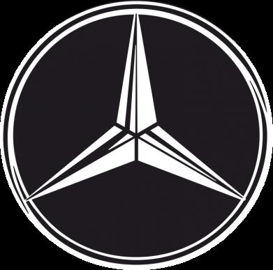 Принт Женские шорты Mercedes - FatLine