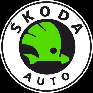 Принт Футболка Поло Skoda Auto - FatLine