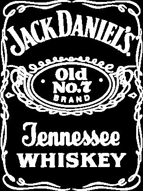 Принт Футболка Поло Jack Daniel's Whiskey - FatLine