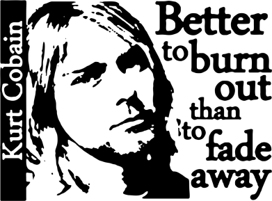 Принт Жіноча футболка Kurt Cobain - FatLine