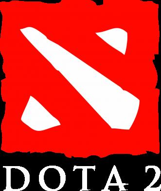 Принт Майка-тельняшка Dota 2 Big Logo - FatLine