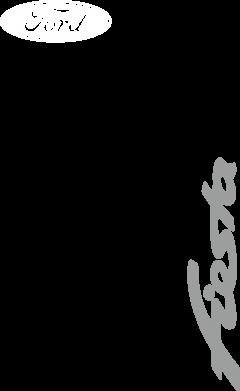 Принт Мужская футболка  с V-образным вырезом Ford Fiesta - FatLine