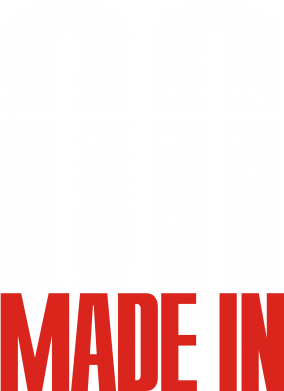 Принт Майка-тельняшка Made in 00 - FatLine