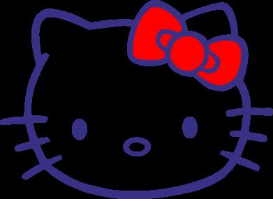 Принт Кепка-тракер Hello Kitty logo - FatLine