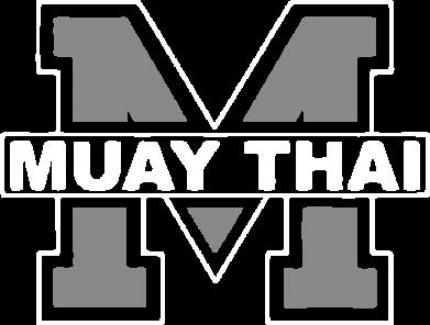 Принт Футболка Поло Muay Thai Big M - FatLine