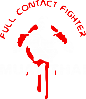 Принт Мужская майка Muay Thai Full Contact - FatLine