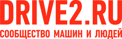 Принт Женская футболка с V-образным вырезом Drive2.ru - FatLine