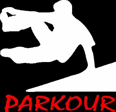 Принт Женская майка Parkour Run - FatLine