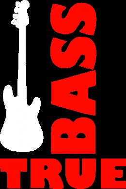 Принт Тельняшка с длинным рукавом Bass True - FatLine