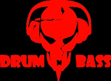 Принт Мужская майка Drumm Bass - FatLine