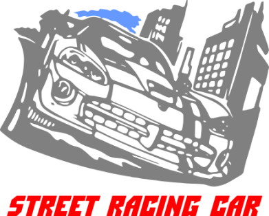Принт Подушка Street Racing Car - FatLine