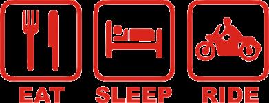 ����� ������� �������� Eat, sleep, ride - FatLine
