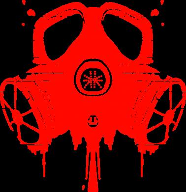 Принт Фартук The Chemodan Clan противогаз - FatLine