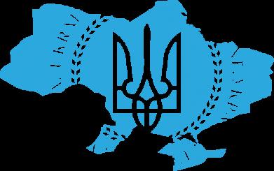 Принт Футболка Ukrainian Map - FatLine