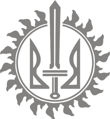 Принт Кружка 320ml Герб Правого Сектору у сонці - FatLine