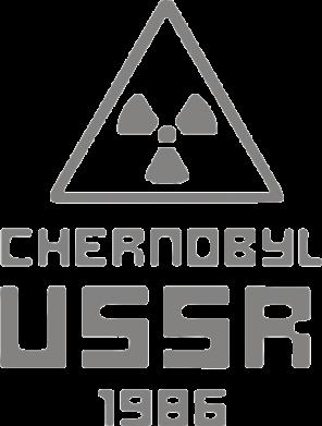 Принт Фартук Chernobyl USSR - FatLine