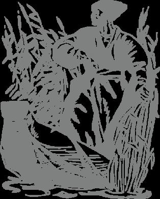 Принт Подушка Козак у камишу - FatLine
