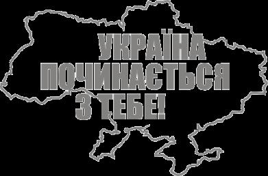 Принт Подушка Україна починається з тебе - FatLine