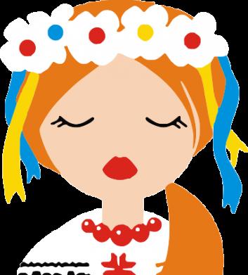 Принт Мужская майка Красива україночка - FatLine
