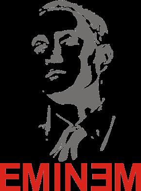 Принт Фартук Eminem Logo - FatLine