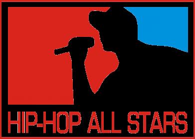 Принт Мужская толстовка на молнии Hip-hop all stars - FatLine
