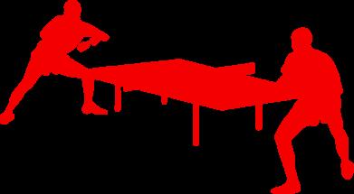 Принт Подушка Теннисный стол - FatLine