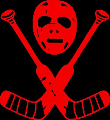 Принт Подушка Хоккейная маска - FatLine
