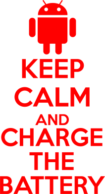 ����� ������� �������� KEEP CALM and CHARGE BATTERY - FatLine