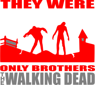 ����� ������ ��� ���� They were only brothers Walking dead - FatLine