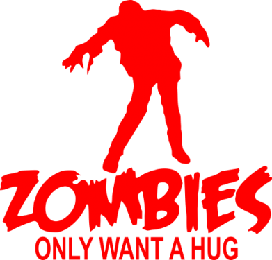 ����� ������� Zombies only want a hug - FatLine
