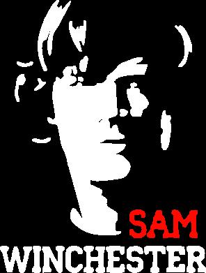 Принт Футболка Поло Sam Winchester - FatLine
