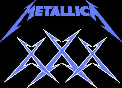 Принт Футболка Поло Metallica XXX - FatLine