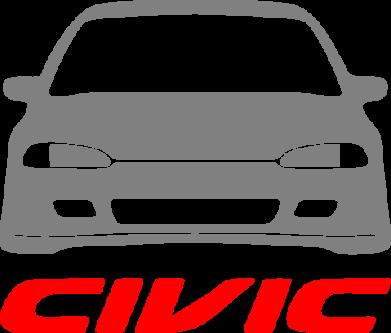 Принт Мужская майка Honda Civic - FatLine