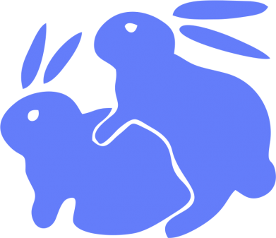 Принт кепка Кролики - FatLine