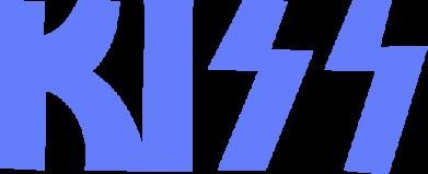 Принт Женская майка Kiss Logo - FatLine
